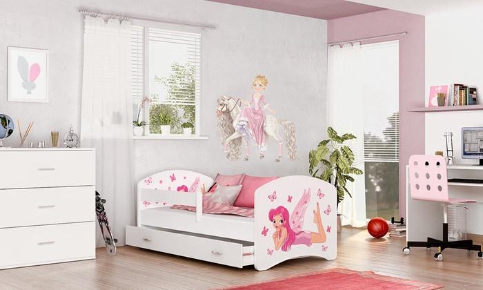 łóżka Dla Dzieci Z Szufladą I Materacem Groupon