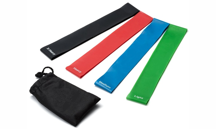 Resistance Fitness Bands (Set of 4)