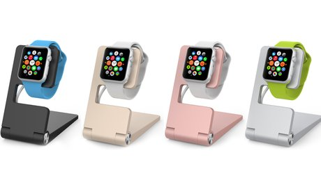 Folding Aluminum Charging Stand for Apple Watch
