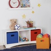 Folding Storage Bins in Assorted Colors (2-Pack)