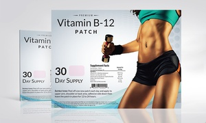 Vitamin B12 and Guarana Slimming Patches (30-Pack) at Vitamin B12 and Guarana Slimming Patches (30-Pack), plus 9.0% Cash Back from Ebates.