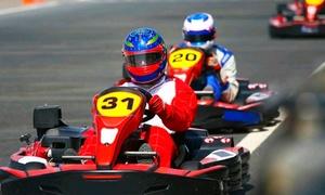 Adrenalina Kart Rio – Matriz: Bateria de 20 minutos com kart 6,5 HP no Adrenalina Rio Kart – Shopping Jardim Guadalupe