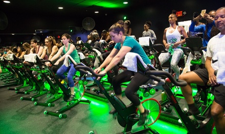Five or Ten Spin  Indoor Cycling Classes at Vibe Ride Westside(Up to 48% Off)