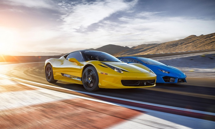 5-, 10-, or 15-Lap Driving Experience at Speed Vegas (Up to 19% Off). 13 Options Available.