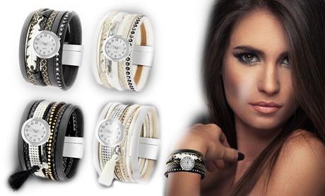 Relojes pulsera So Charm Paris adornados con cristales