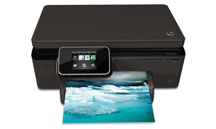hp photosmart 5520 wireless all in one color inkjet printer groupon. Black Bedroom Furniture Sets. Home Design Ideas