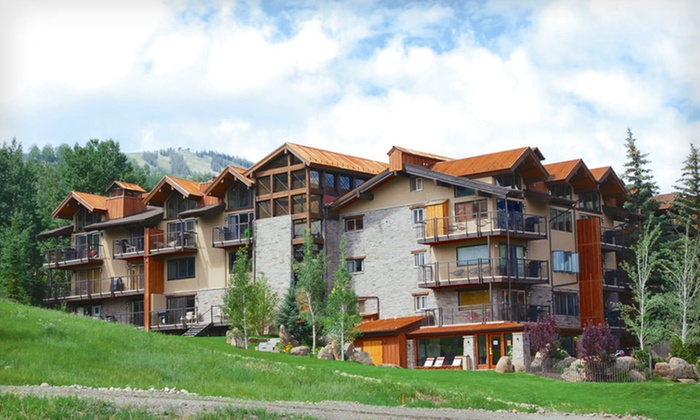 The Crestwood Condominiums - Snowmass Village: Two- or Five-Night Stay with Gift Basket at The Crestwood Condominiums in Snowmass Village, CO