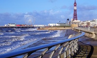 Blackpool: Stay for Two or For Up to Five with Continental Breakfast at The Derwent Hotel