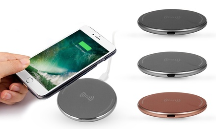 Universal Smartphone Wireless Charger with Optional Receiver for iPhone 5/6/7
