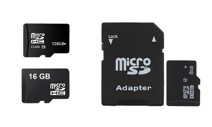 Groupon Goods Global GmbH: 8GB, 16GB, 32GB, 64GB or 128GB SD Memory Card Bundle