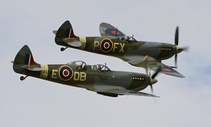 image for The Battle of Britain Air Show, 30 June–1 July 2018 at Headcorn Aerodrome (Up to 54% Off)