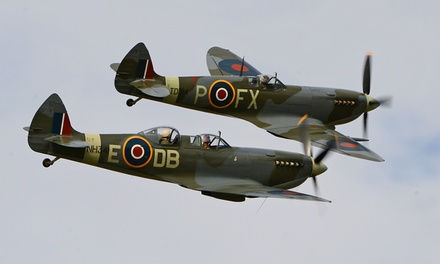 The Battle of Britain Air Show, 30 June–1 July 2018 at Headcorn Aerodrome (Up to 54% Off)