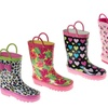 Laura Ashley Toddler Girls' Water-Resistant Rain Boots
