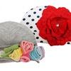 So Dorable Knit Flower Hats