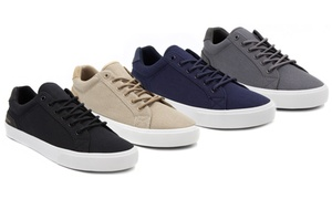 London Fog Bayswater Men's Canvas Sneakers (Sizes 8, 8.5, 9, 10)