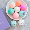 Organic Bath Bombs with Shea Butter