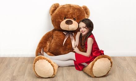 Ours en peluche géant, blanc ou marron, à 44,99 € (jusqu'à 59% de réduction)