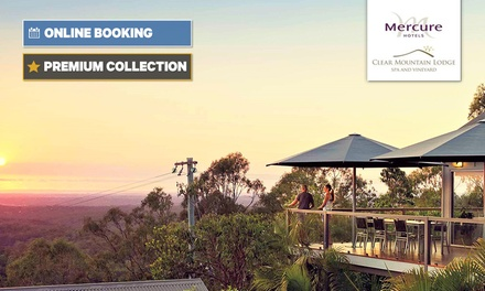 Clear Mountain: Stay for Two People with Breakfast, Wine and Spa Voucher at Mercure Clear Mountain Lodge