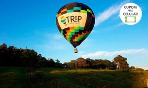Trip Balonismo Aventura: Voo de balão, transfer na cidade e imagem digital (opção com espumante) com a Trip Balonismo –  Torres