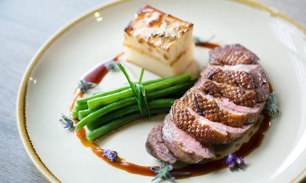Two or ThreeCourse Meal For Two with Glass of Wine Each or Bottle to Share at Rendezvous Casino