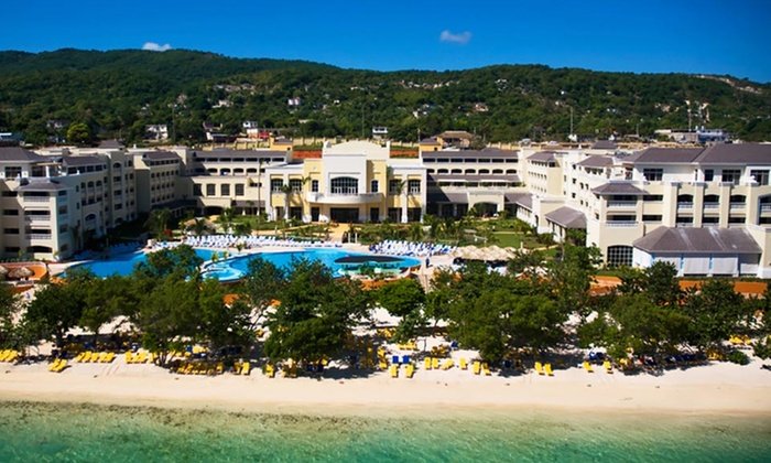 All-Inclusive Jamaica Vacation with Air at Iberostar Rose Hall Beach Hotel - Vacation Express: 6- or 7-Night All-Inclusive Stay at Iberostar Rose Hall Beach Hotel with Round-Trip Airfare from Vacation Express