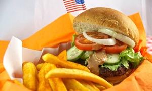 Frisco Lübeck: Burger nach Wahl mit einer Portion Pommes Frites für zwei oder vier Personen im Frisco Lübeck (bis zu 58% sparen*)