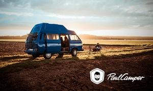 PaulCamper: Wertgutschein über bis zu 250 € anrechenbar auf die Miete eines Campers oder Wohnmobils bei PaulCamper
