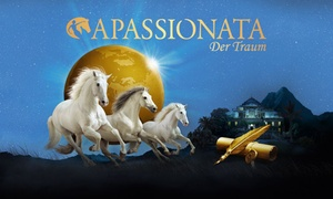 """APASSIONATA: der Traum: 2 Tickets für die Pferdeshow """"APASSIONATA Der Traum"""" in Riesa oder Oberhausen (bis zu 35% sparen)"""