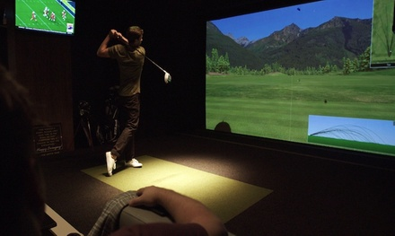 Golf Simulator Rental Package at Loft18 (Up to 49% Off). Three Options Available.