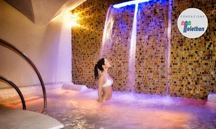 Ingresso Spa di 2 ore per 2 persone con massaggio a scelta da Florence Garden Urban Spa e Beauty Center