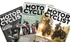 1-Year, 6-Issue Subscription to Motorcyclist Magazine