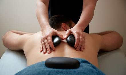 $45 for One 60-Minute Hot-Stone Massage at Club de Elite ($119 Value)