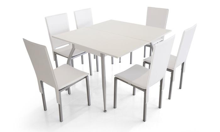 Tavolo da cucina allungabile Earth | Groupon Goods