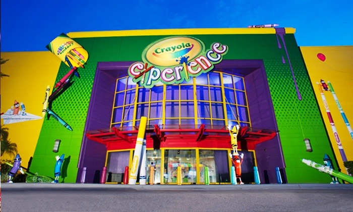 three crayola experience orlando at the florida mall the florida mall two