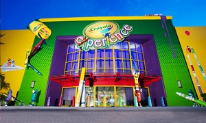 Crayola Experience Orlando – Up to 41% Off at Crayola Experience Orlando at The Florida Mall, plus 6.0% Cash Back from Ebates.