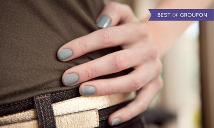 Shellac Manicure, Pedicure, or Shellac Manicure and Pedicure at Tea Spa Wellness Center (Up to 55% Off)