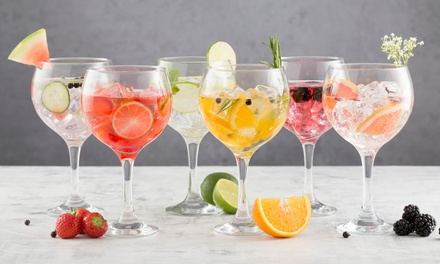 Set of Six Ravenhead Gin Balloon Glasses