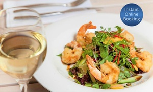 Plank Kitchen and Bar: Two-Course Modern Australian Dinner with Wine for Two ($49) or Four ($95) at Plank Kitchen and Bar (Up to $176 Value)
