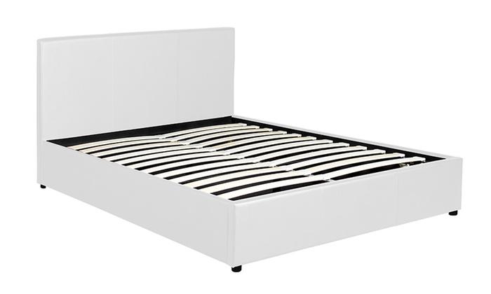 lit coffre sampur groupon. Black Bedroom Furniture Sets. Home Design Ideas