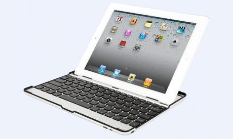 Funda con teclado de aluminio para iPad e iPad Mini Oferta en Groupon