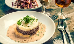 The Gourmet Mash Bar: Main Course with a Glass of Prosecco or Beer for Two or Four at The Gourmet Mash Bar (Up to 38% Off)