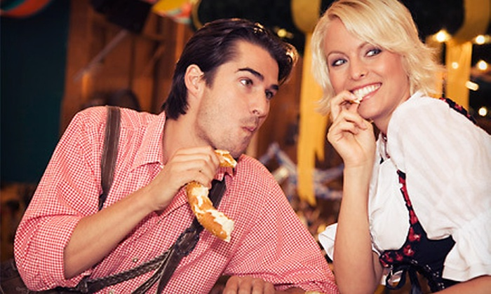 Los Angeles Oktoberfest - Hollywood: Los Angeles Oktoberfest for One or Two on Saturday, October 20, or Sunday, October 21 (Up to 55% Off)