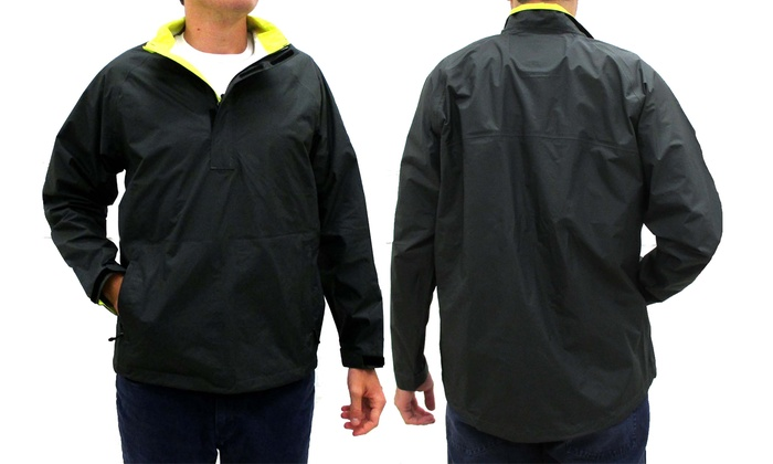 Wedge Men's Waterproof Pullover | Groupon Goods