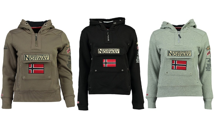 Geographical Norway Women's Hooded Sweater