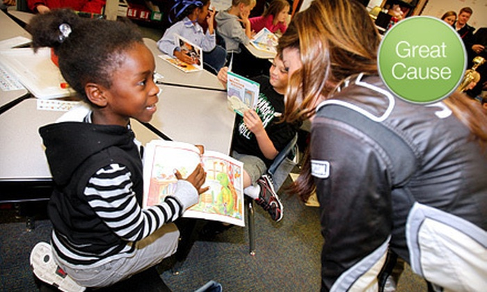 Speedway Children's Charities Texas Chapter - Dallas: $10 Donation to Help Supply Library with 100 Books