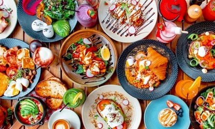 All-Day Breakfast or Lunch + Drink Each for 2 ($19) or 4 Ppl ($35) at 18 Grams Cafe - Eastgardens (Up to $99.60 Value)