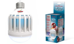 ZapMaster 2-In-1 LED Light Bulb and Bug Zapper at ZapMaster 2-In-1 LED Light Bulb and Bug Zapper, plus 6.0% Cash Back from Ebates.