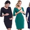 Bequemes Kleid für Schwangere