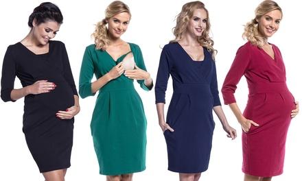 Happy Mama Umstandskleid für die Schwangerschaft und danach in der Farbe und Größe der Wahl (Duesseldorf)