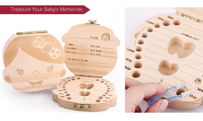 Sensual Sale: Baby Tooth Keepsake Box: One ($19) or Two ($29)